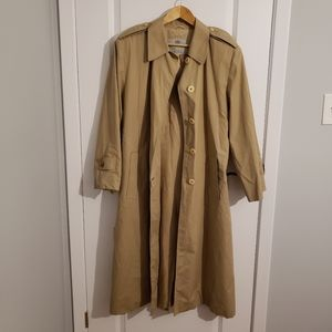 VINTAGE AQUASCUTUM Aqua 5 Belted Trench Coat